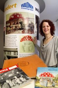 Birgit Burger von Waldner Laboreinrichtungen. Foto: Janina Schütz